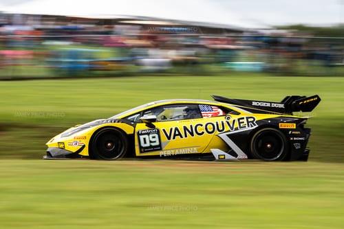August 23-25 2019: Lamborghini Super Trofeo: Virginia International Raceway. 09 Damon Ockey, Jacob Eidson, US RaceTronics, Lamborghini Vancouver, Lamborghini Huracan Super Trofeo EVO