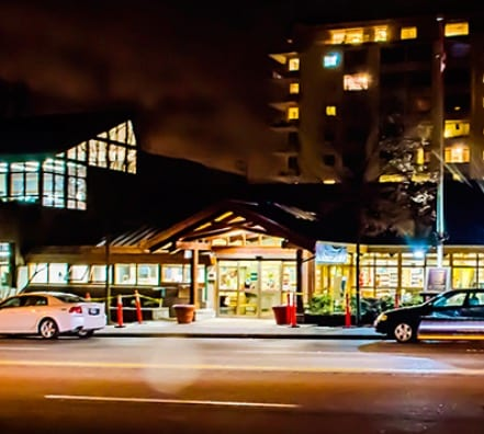 west-vancouver-library-night