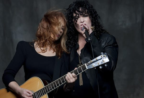 Heart with Nancy and Ann Wilson in Vancouver