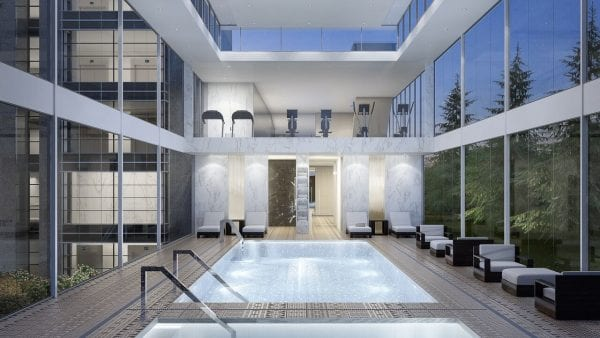 Pool, yoga and luxurious amenities