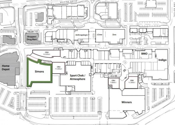 Park Royal Shopping Mall South Mall Plan Revealed