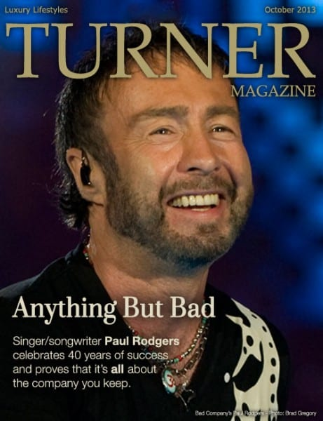 Turner Magazine Cover - Paul Rodgers of Bad Company